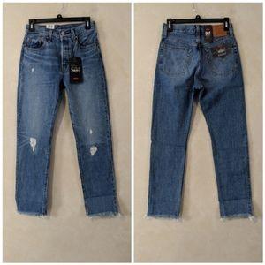 Levi's 501 Straight Leg Jean Truth Unfolds 26 x 30